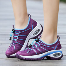 Womens Athletic Shoes Casual Sneakers Mesh Running Trainers Breathable Sport New