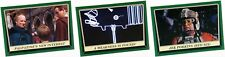 2016 Star Wars Rogue One Mission Briefing Green Parallel Set Singles Cards