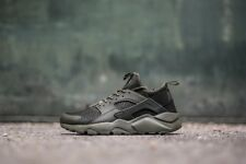 Nike Air Huarache Run Ultra Mens Trainers Shoes KHAKI GREEN