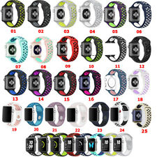 2018 Replacement Silicone Sport Band Strap For Apple Watch 42mm 38mm 42 38mm