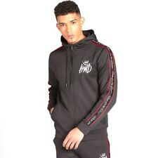 Kings Will Dream Men's Roxberry Tape Poly Zip Hoodie Black/Red