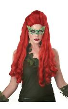 LETHAL BEAUTY POISON IVY ADULT RED LONG WIG HALLOWEEN COSTUME ACCESSORY