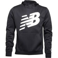 NEW BALANCE ACCELERATE TECH POLY BLACK HOODY- FREE & FAST DELIVERY