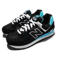 New Balance WL574CPA B Black BLue White Suede Womens Running Shoes WL574CPAB