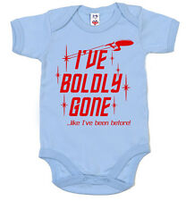 "Star Trek Combinaison "" I've Boldly Gone Like I've été Before "" drôle"