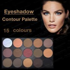 Pro 15 Colors Warm Nude Matte Shimmer Eyeshadow Palette Makeup Cosmetic OU