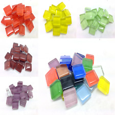 10mm Murrini mosaic tiles for arts and crafts - 100g Various Colours
