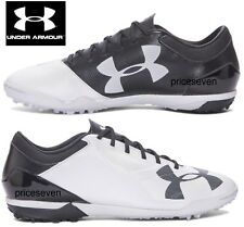 Under Armour Mens White Spotlight Astro Turf Football Trainers Shoes *NEW