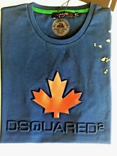 Mens Dsquared2 Tshirt - Maple Leaf Theme