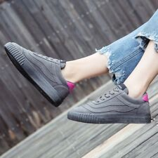 Womens Fashion Single Shoes Plats Lace Up Athletic Comfy Casual Sneakers Walking