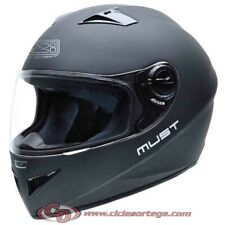 Casco NZI integral MUST II  MATT BLACK mate talla XXS