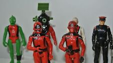 1982 action gi joe figures Palitoy Red Shadows Muton Kraken Black Major Baron