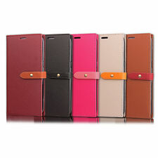 COQUE ETUI HOUSSE PORTEFEUILLE CHIC CUIR NEUF HUAWEI P8 P10 LITE