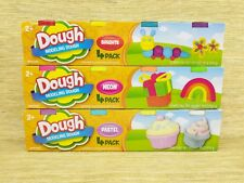 4 Packs, Nontoxic Modeling Dough, Molding Clay, Brights, Neon, Pastel, Age 2+