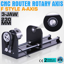 Cnc Router Rotary Attachment Axis With 80mm Anti-Rusty F Style  Strong Packing