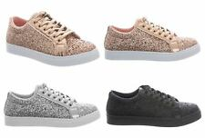 New Shelikes Womens Trendy Fashionable Speckled Trainers Size 3-8