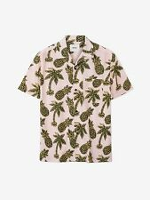 WESC CAMICIA NEVIN PINEAPPLE PINK