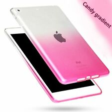 Fashion Transparent Gradient Case For Apple Ipad Air 2 Case Silicon Protection C