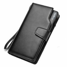 Business Wallet Clutch Coin Pocket Zipper Men Purse 3 Fold Wallet Casual Luxury1