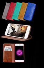 Luxury Leather Magnetic Wallet Phone Case for iPhone 5 6S 7 8 Plus