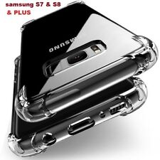 NEW 360° TPU Case Shockproof Full Protector Cover For Samsung Galaxy S7 S8