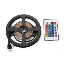 3M/5M USB LED RGB Multi Color Strip Light Lamp TV Computer Backlight Remote
