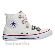 Scarpe Converse Chuck Taylor All Star Big Eyelet Hi 560977C White Sneakers Donna