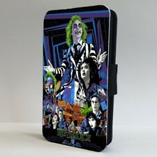 Beetlejuice Tim Burton Movie Poster FLIP PHONE CASE COVER for IPHONE SAMSUNG