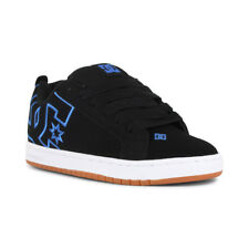 DC Court Graffik Shoes - Black / Black / Blue