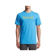 T-shirt Hurley One&only Push Trough Light Blue Hea