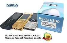 Nokia 6300 *New*  (Unlocked) Mobile Camera FM Radio bluetooth phone all colors