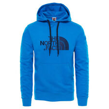 FELPA UOMO THE NORTH FACE DREW PEAK CON CAPPUCCIO COLORE TURCHESE/ROYAL - T0A...