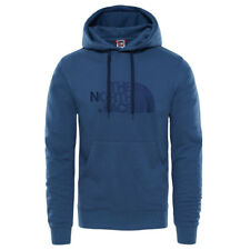 FELPA UOMO THE NORTH FACE DREW PEAK CON CAPPUCCIO COLORE BLU - T0A0TEN4L
