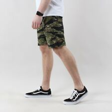 Stan Ray 5500 Fatigue Shorts Green Tigerstripe Camouflage Ripstop