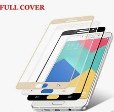 For Samsung Galaxy C9 Pro Full Cover Color Tempered Glass Screen Protector