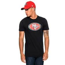 New Era San Francisco 49ers Team Logo Football NFL T-Shirt Schwarz
