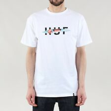 HUF OG Logo Ripped T-shirt - White