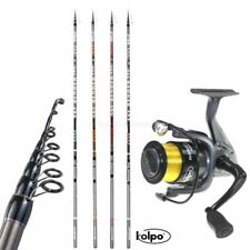 Kit Pesca Trota Lago Canna Sky Bender Mulinello Nanga​ NEW