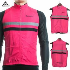 Windproof Sleeveless Cycling Jersey Clothing Bicycle Reflective