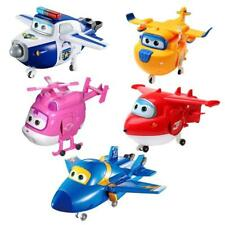 Super Wings Transform-a-Bots Jett, Dizzy, Paul, Jerome, Donnie, Mini Figures