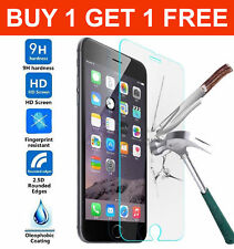 Tempered Glass Screen Protector cover for Apple iphone 4 4s 5 5s 5c 6 7 8 plus X