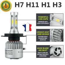 Kit Phare Light Blanc 2 Ampoule Feu Phare XENON H7 H11 H1 H3 72 W 8000LM 6500K
