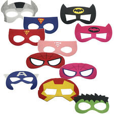 infantil superhéroe Máscaras MARVEL DC spiderman batman Vengadores