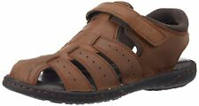 Hush Puppies Men's Fishermen Bounce Leather Athletic & Outdoor Sandals Size 7UK