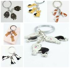 Lovely Creative Cute Animal Pet Dogs Charm Car KeyChain Key Chain Ring Gift