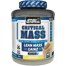 Applied Nutrition Critical Mass 2.89kg / 6kg + Weight Gain + FREE FAST Delivery