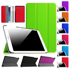 """New Smart Leather Case Cover For Samsung Galaxy Tab E 9.6""""Inch Tab S 10.5"""" Inch"""