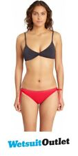 2017 Billabong signore Sol Ricercatore Low Rider Bikini Bottom in Horizon Red C3