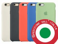 APPLE CUSTODIA COVER PER IPHONE 6/6s SILICONE CASE ORIGINALE