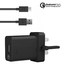 GENUINE SONY XPERIA Charger With TYPE C USB Data Cable For SONY XPERIA MOBILES